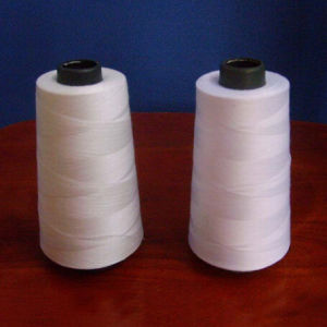 Raw White Polyester Sewing Thread/Yarn pictures & photos