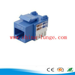 Cat 6 UTP Keystone Jack pictures & photos