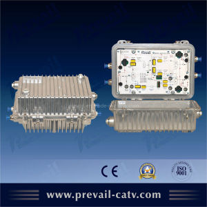 1GHz Outdoor Bi-Directional CATV Signal Amplifier (WA1300CEAM) pictures & photos