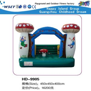 Lovely Cartoon Inflatable Castle Game Small Bouncy House (HD-9904) pictures & photos