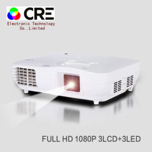 Home Theatre Lowest Price Mini LED 1080P Projector pictures & photos
