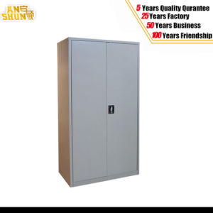 2 Steel Door Office Furniture Filing Cabinet 2 Swing Door Steel Filing Cabinet pictures & photos