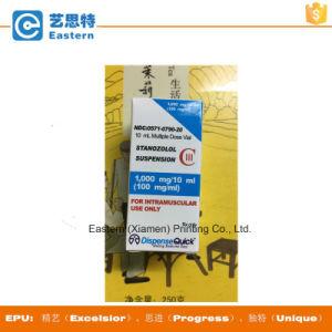 Custom Free Design 10ml Holorgram Vial Label for Dispense Quick