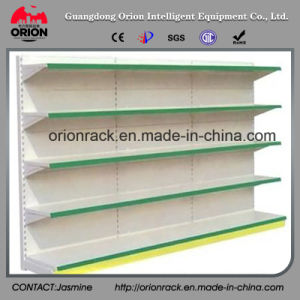 Single Sided Supermarket Steel Display Shelves pictures & photos