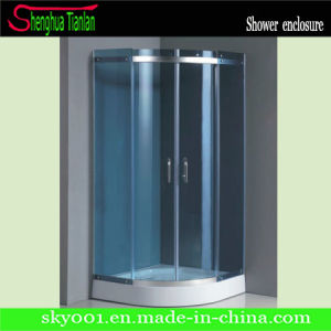 Blue Glass Simple Popular Simple Sliding Shower House (TL-521) pictures & photos
