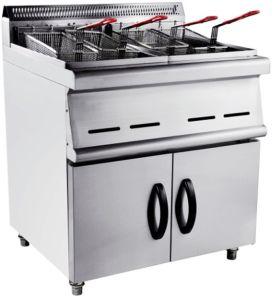 Gas Deep Fryer (2-Tank, 4-Basket) pictures & photos