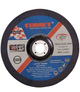 Cutting Disc for Metal (180X3.2X22.2) Abrasive with MPa Certificates pictures & photos