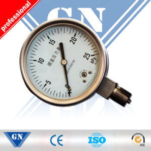 Water Pressure Gauge Low pictures & photos