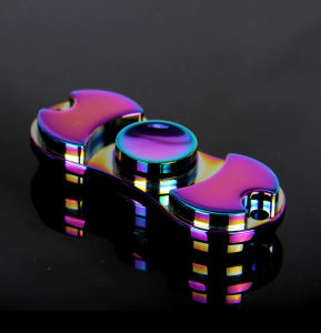 Metal Fidget Spinner Fingertip Gyroscope Colorful Creative Funny Toys Anti Stress Toys for Kids Adult pictures & photos