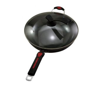 Pure Iron Wok Cookware (QW-SH-5) pictures & photos