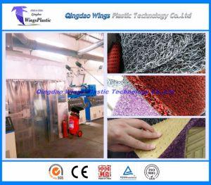 Plastic Car Floor Mat Making Machine / PVC Materials Car Coil Mat Production Line pictures & photos