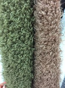 Super Soft Curly Faux Lamb Fur /Artificial Wool Fur pictures & photos