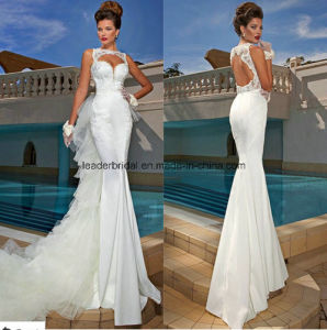 Mermaid Bridal Gowns Backless Detchable Wedding Dresses Z2018 pictures & photos