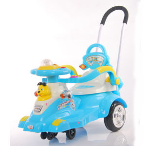 New PP Plastic Children Toys Baby Car with Musics Light pictures & photos