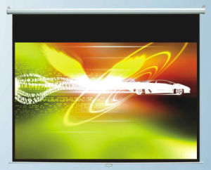 """80""""X80"""" Manual Screen with Fiberglass Matte White, High Quality pictures & photos"""