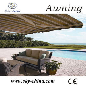 Aluminum Poly Retractable Awnings for Window (B3200) pictures & photos