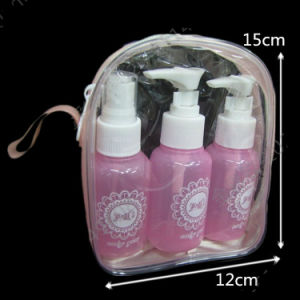 Transparent PVC Packaging Bag for Hotel and Toiletry pictures & photos