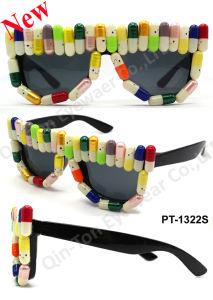 Capsule Decoration Party Glasses (PT-1322S)