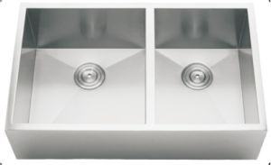 Kitchen Sink Double Bowls, Stainless Steel Kitchen Sink pictures & photos