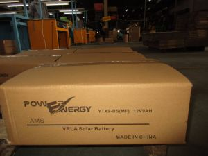 12V9ah Ytx9-BS Sealed Maintenance Free Lead Acid Solar Battery pictures & photos