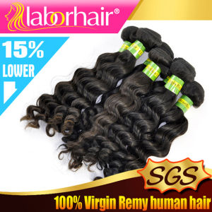 7A Brazilian Deep Wave Unprocessed Virgin Human Hair Extensions pictures & photos