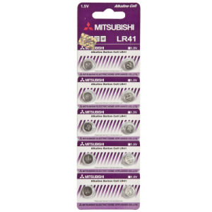 Mitsubishi Alkaline Button Battery 392A