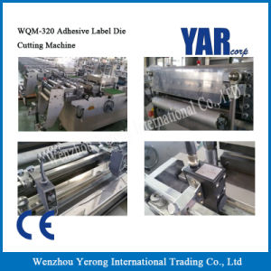 Cheap Wqm Series Adhesive Label Die-Cutting Machine with Ce pictures & photos