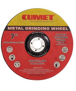 T27 Depressed Centre Cut-off Wheels for Metal (180X6X22.2mm) Abrasive with MPa Certificates pictures & photos