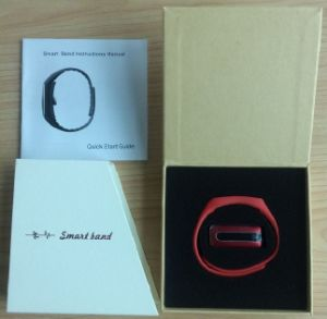 Long Standby OLED Screen Wristband Bluetooth Smart Bracelet with Health-Monitor Hb02 pictures & photos