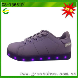 LED Light Sneakers with RoHS Certificate pictures & photos