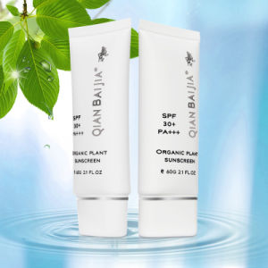Skin Care Natural Whitening Best QBEKA Organic Plant Sunscreen Lotion SPF 30 ++ pictures & photos