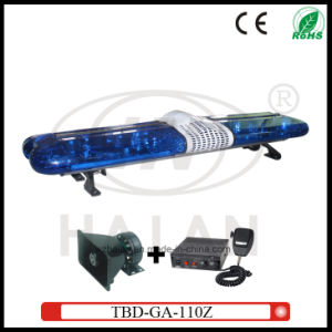 Blue Dome Halogen Rotating Police Lightbar (TBD-GA-110Z) pictures & photos