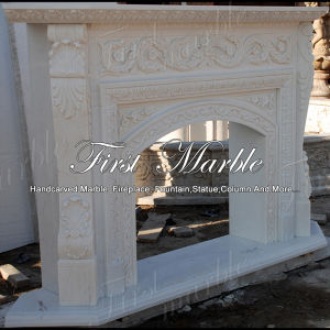 Top Quality White Carrara Fireplace for Home Furniture Mfp-550 pictures & photos
