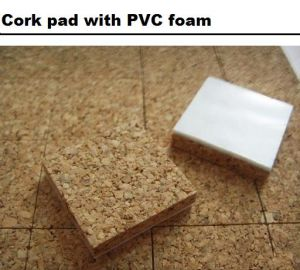 Cork Pad with PVC Foam pictures & photos