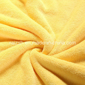 100% Polyester Micro Plush Coral Fleece Fabric