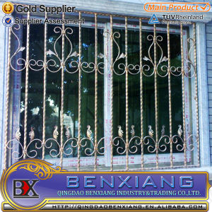with High Quality Wrought Iron Window Grills pictures & photos