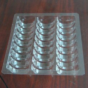 Clear Pet Plastic Tray for Chocolate Packing Macaron Vacuform Packaging FDA pictures & photos