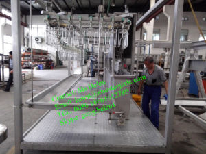 High Quality 300-500 Chickens/H Slaughtering Line/ Halal Chicken Abattoir/ Slaughtering Machine pictures & photos