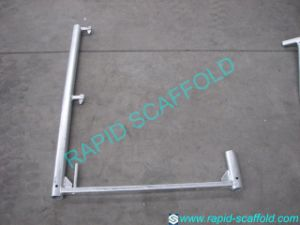 Guard Rail Support Euro Frame Scaffolding pictures & photos