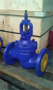 DIN Cast Steel Globe Valve pictures & photos