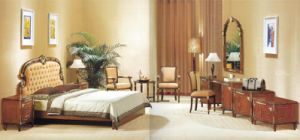 Luxury Star Antique King Size Bedroom Furniture (GLB-201) pictures & photos