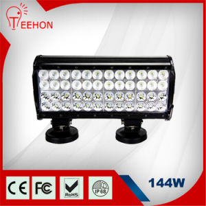 3W Epistar Chips 144W 12in 4 Row LED Work Light Bar for Truck Trailer Boat pictures & photos