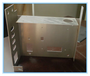 Custom Aluminium Sheet Metal Fabrication Machined Assembly Part pictures & photos