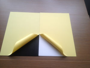Photo Album Inner Pages, Cold Pressing Album Adhesive PVC Sheets pictures & photos
