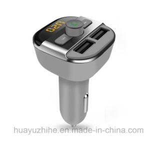 Bluetooth Car FM Transmitter Handsfree +Fmt + 3.4A Car Charger pictures & photos