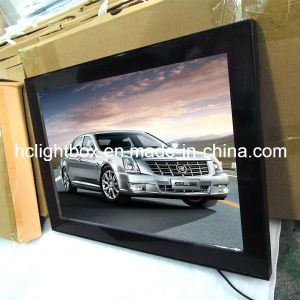 Aluminum Magnetic Frame Slim LED Advertising Light Box pictures & photos