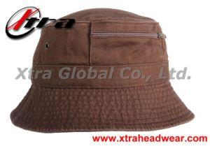 Bucket Hat with Zipper Fishman Hats pictures & photos