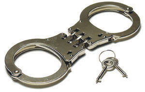 Police Handcuffs/Darbies/Carbon Steel Handcuffs pictures & photos