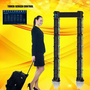 24 Detecting Zone Portable Door Frame Metal Detector pictures & photos