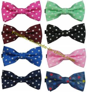 Brand New Polka DOT Men′s Tuxedo Bow Tie pictures & photos